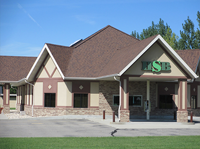 Picture of Harwood State Bank drive up